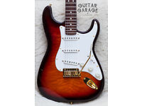 FENDER USA 50th Anniversary Collectable American Stratocaster guitar - VERY RARE ! CAN POST!