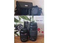Canon EOS1300D 18MP Camera + Extras