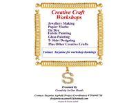 Creative craft workshops