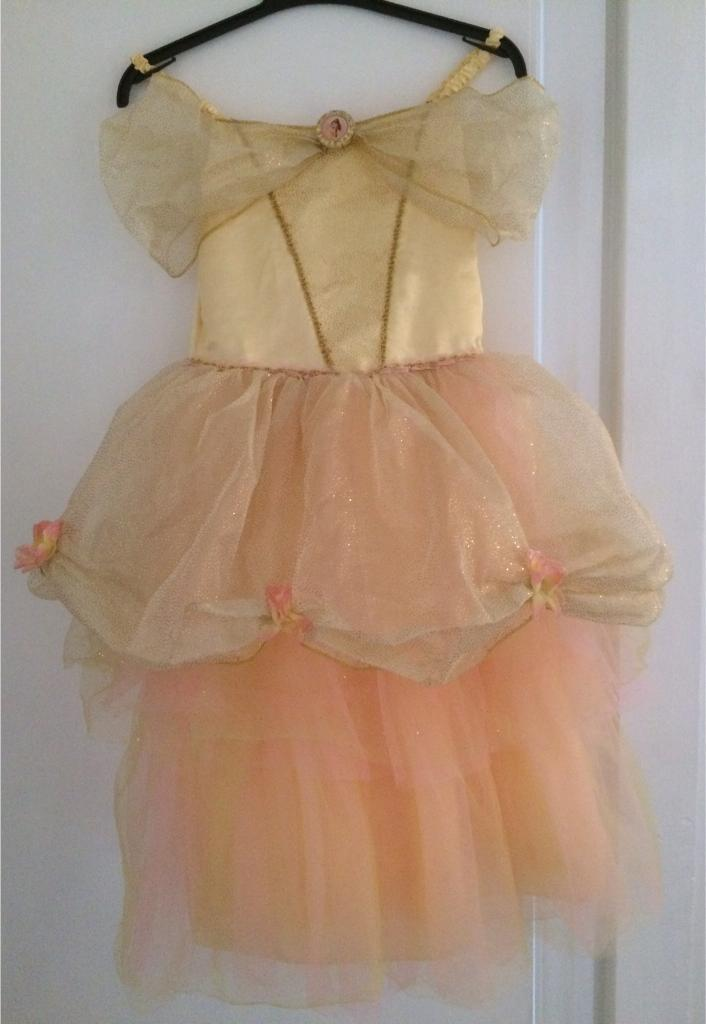 Disney Belle dress age 9-10 years