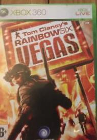 Xbox 360 Tom Clancy's Rainbow 6 Vegas