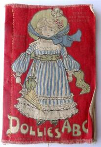 Antique Children's No.15 Dean's Rag Book Dollie's  ABC 1st ed. 1904  racial