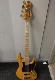 Bass Mods K4 Spalted Maple Bass