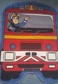 Rug kids fireman sam