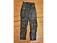 Just Bikers Motorcycle Clothing trousers, womens, size 12