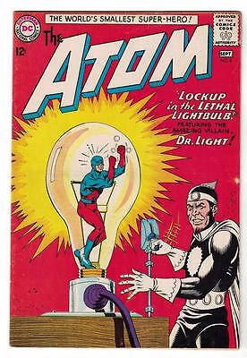 DC Comic ATOM Silver age  #8 FN- 5.5  superman 1965