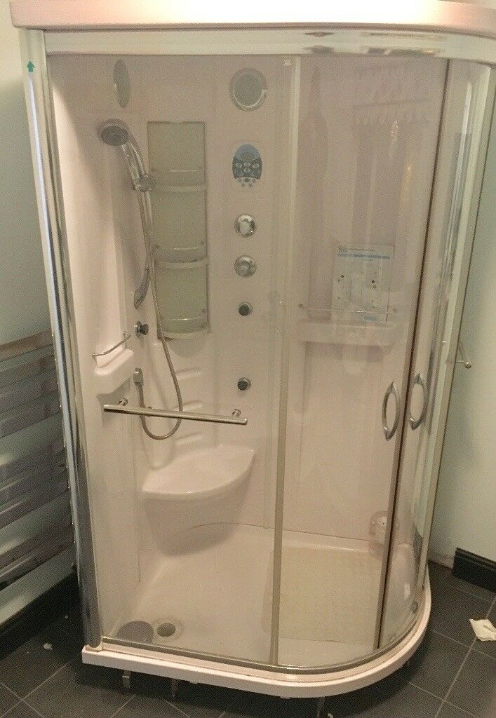 Quadrant and Offset Quadrant Steam Cabin Shower Cubical. Model ...