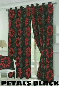 BRAND NEW FLORAL / PETAL CURTAINS