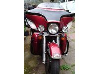 Harley davidson electra glide ultra classic. 1340cc EFI.