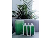 3 sets of 3x Easy vision preservative free contact lens solution 250ml