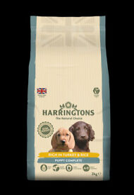 Harringtons Puppy Food with Turkey and Rice 2x 10kg
