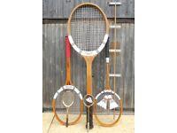 Giant Badminton racket