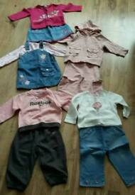 Girls clothing sets age 12-18 month