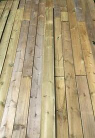 Various timber for raised beds etc