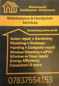 Maintenance & Handyman services Bournemouth