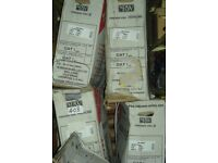 Job Lot of 7 robinson willey gas fires firegem visa 2 and highline, New and boxed, Sold as seen