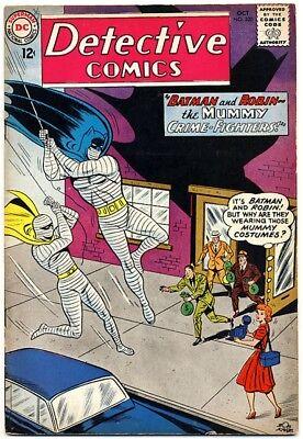 "DETECTIVE COMICS #320 1963 VF- ""The Mummy Crime-Fighters"" BATMAN & ROBIN"