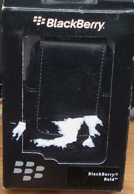 Blackberry Bold 9000 Leather Swivel Holster - Black - BRAND NEW IN BOX - NICE Bold Holster