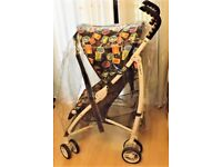 MOTHERCARE ,PICK AND MIX PRAM , / BUGGY ,WITH UNIVERSAL RAINCOVER ,