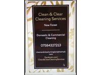 Clean & Clear Cleaning Services