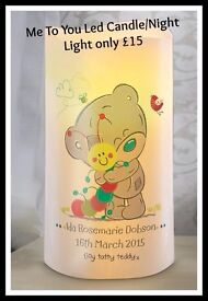 Me To You Led Candle/Night Light only £15