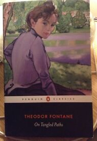 On Tangled Paths by Theodor Fontane paperback book Penguin Classics