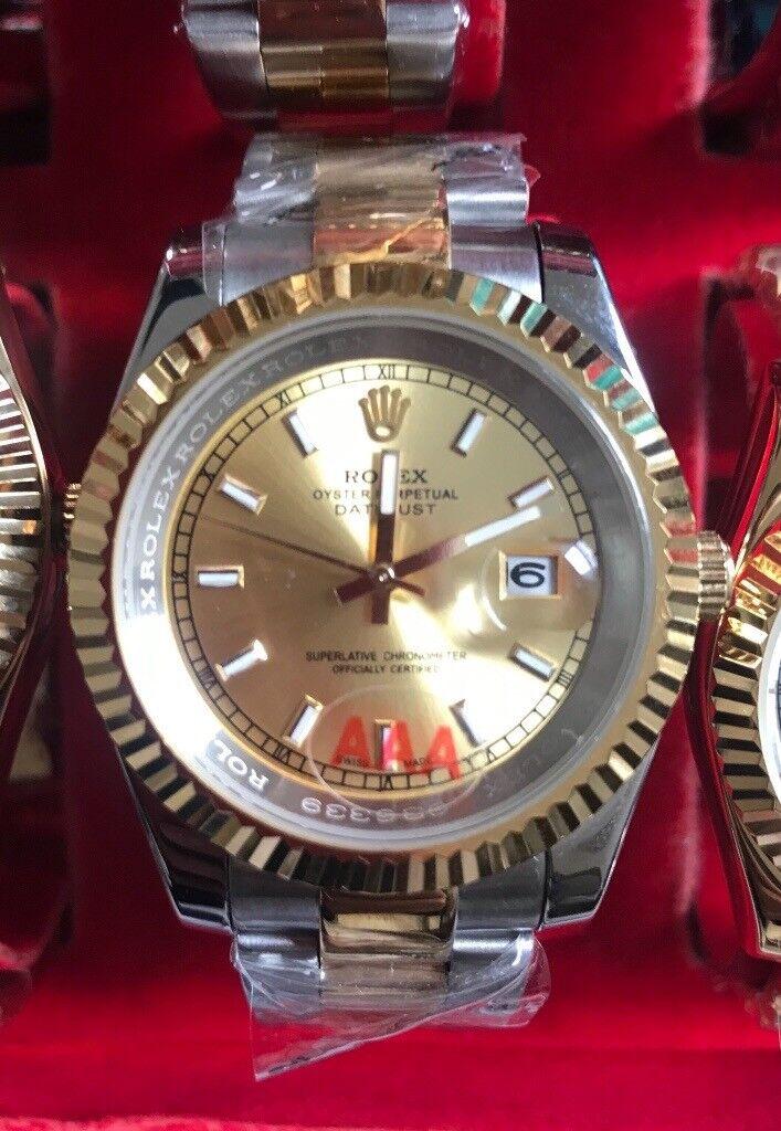 Rolex Datejust II 116334 Steel & White Gold 41mm Fluted Bezel Factory Diamonds