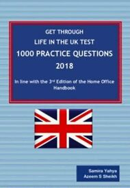 Life in the UK Test - 1000 Practice Questions – 2018 to 2020
