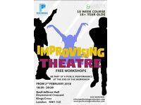 Free Improv Theatre (10 Week Workshop)