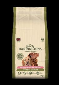 Harringtons Salmon and Potato Dog Food 2kg