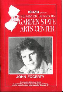 Garden State Arts Center Concert Program John Fogerty