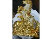 Nice gold horses