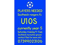 YOUTH PLAYERS WANTED