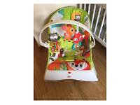 Fisher price woodlands vibrating Bouncer