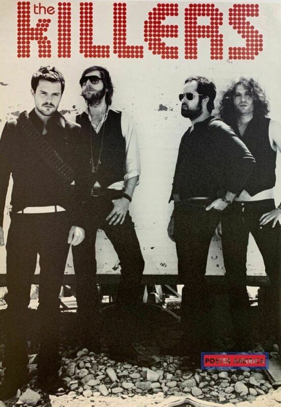 The Killers Rare Band Shot Poster 24 x 34