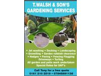 T.walsh & sons garden services