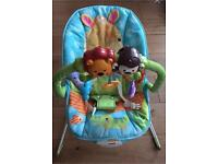 Fish price baby bouncer chair