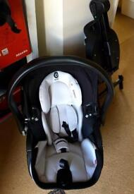 Baby ISO fix car seat with base