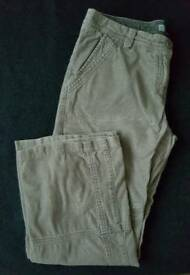 Ladies' cord trousers