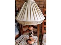 Beautiful lampstand and shade