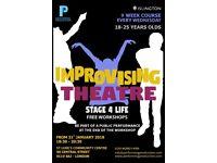 Improv Theatre Workshop, for FREE