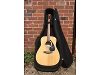 Yamaha Acoustic Guitar + Case FOR SALE (Including Accessories) - Perfect for Entry Level Players!