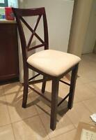 Bar stools or dining Chairs for dinette