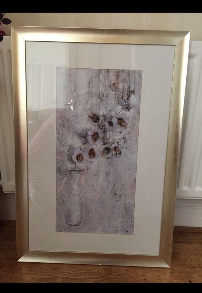 "Picture. Medium size. Silver framein Darlington, County DurhamGumtree - Size 23 x 33""Nice framed pictureSilver frame. Lovely quality Collect darlington"