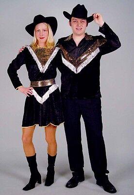 KarnevalsTeufel Country-Kleid Fasching Line Dance Wild West 121153713