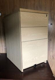 Filing cabinet small 3 drawer