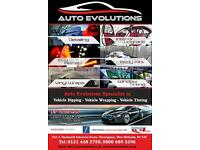 AUTO EVOLUTIONS CAR WINDOW TINTING, VEHICLE WRAPPING AND DIPPING
