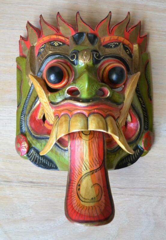 Balinese Balong Wooden Mask