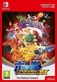Pokemon Pokken Tournament DX - Nintendo Switch Video Game - Full Game Digital Code - NEW