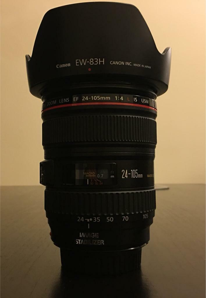 Canon L24-105 F4 IS USM lens